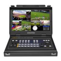AVMATRIX PVS0613U PORTABLE 6-CH SD/HDMI MULTI-FORMAT STREAMING SWITCHER