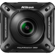 Nikon KeyMission 360 Action Camera [ONLINE PRICE] [with FREE LENS PROTECTOR or REMOTE CONTROL or BASE ADAPTOR]