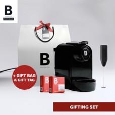 B COFFEE CO. GIFTING BAG BLACK