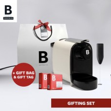 B COFFEE CO. GIFTING BAG WHITE