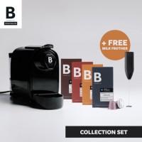 B COFFEE CO. COLLECTION SET BLACK