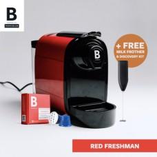 B COFFEE CO. FRESHMAN RED