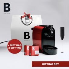 B COFFEE CO. GIFTING BAG RED