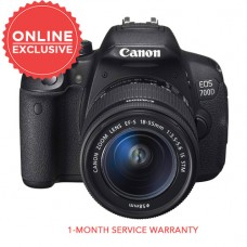 CANON EOS 700D BODY (BLACK) W/ 18-55MM STM [CLEARANCE SALE]