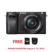 SONY ALPHA α6300 WITH 16-50MM F3.5-5.6 OSS (KIT) [ONLINE PRICE]