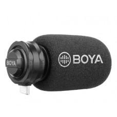 BOYA BY-DM100 DIGITAL STEREO CARDIOID CONDENSER MICROPHONE USB TYPE-C [ONLINE EXCLUSIVE]