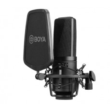 BOYA BY-M1000 LARGE DIAPHRAGM CONDENSER MICROPHONE [ONLINE EXCLUSIVE]