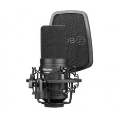 BOYA BY-M800 LARGE CARDIOID DIAPHRAGM CONDENSER MICROPHONE [ONLINE EXCLUSIVE]