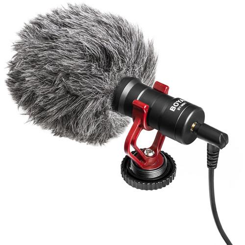 Boya By Mm1 Universal Cardioid Shotgun Microphone