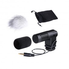 BOYA BY-V01 MINI STEREO MICROPHONE [ONLINE EXCLUSIVE]