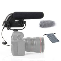 Boya BY-VM190 Professional Directional Video Condenser Shotgun Microphone