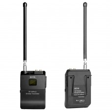 BOYA BY-WFM12 WIRELESS VHF MICROPHONE SYSTEM