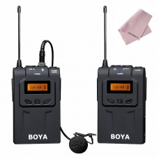 BOYA BY-WM6 UHF Professional Omni-Directional Wireless Lavalier Microphone System