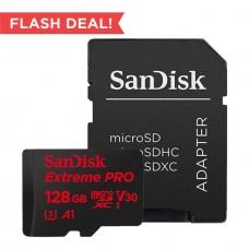 SANDISK EXTREME PRO MICROSDHC UHS-1 128GB 95MB/S 633X (S)