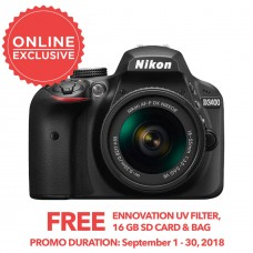 Nikon D3400 with 18-55mm KIT [ONLINE PRICE]