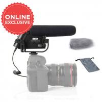 BOYA BY-VM190 PROFESSIONAL DIRECTIONAL VIDEO CONDENSER SHOTGUN MICROPHONE