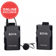 BOYA BY-WM4 II 2.4G WIRELESS MIC FOR SMARTPHONE AND DSLR
