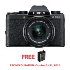 FUJIFILM X-T100 BLACK (W/15-45)