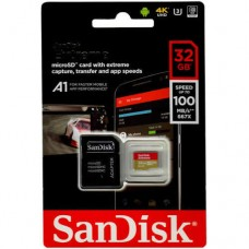 Sandisk Micro SDXC Extreme 032G (R100m/W60 U3  4K)