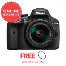 Nikon D3400 with 18-55mm KIT