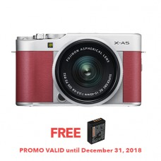 FUJIFILM X-A5 WITH 15-45MM LENS (PINK KIT) [FREE FROM DECEMBER 10-16,2018 VSGO DDA-3 MOLINE AIR BLOWER]