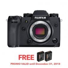 FUJIFILM XH1 MIRRORLESS DIGITAL CAMERA (BODY ONLY) [FREE FROM DECEMBER 10-16,2018 VSGO DDA-3 MOLINE AIR BLOWER]