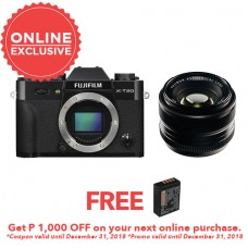 FUJIFILM DIGITAL CAMERA X-T20 (BODY) W/ Fujifilm XF 35mm F1.4 (BLACK KIT) [FREE FROM DECEMBER 10-16,2018 VSGO DDA-3 MOLINE AIR BLOWER]