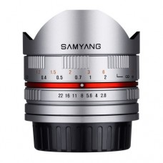 SAMYANG 8MM F/2.8 FISHEYE II LENS FOR FUJIFILM X MOUNT SILVER - [OUT OF STOCK]