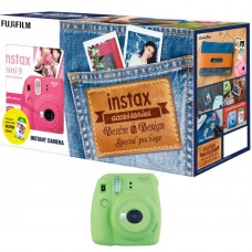 FUJIFILM MINI 9 DENIM PACKAGE LIME GREEN