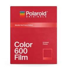 POLAROID METTALIC RED FRAME FOR 600 FILM