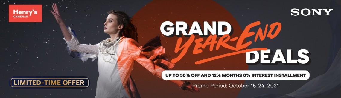 Sony Year-End Promo