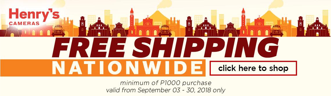 FREE SHIP SEPTEMBER