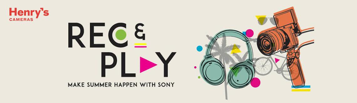 Sony Rec & Play Promo
