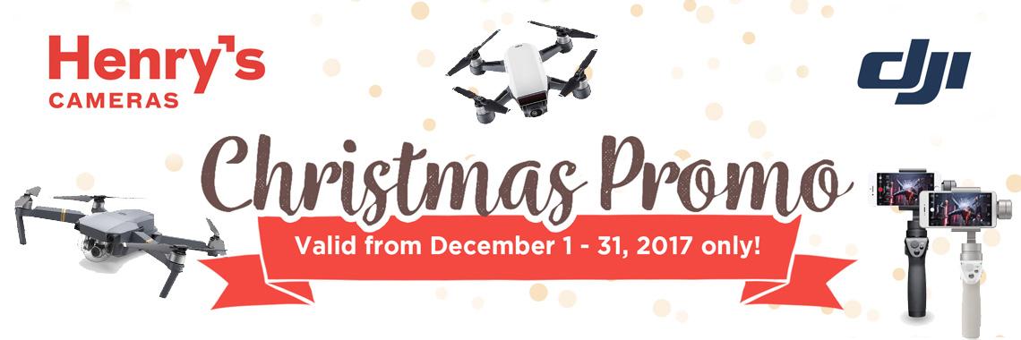 DJI Christmas Promo