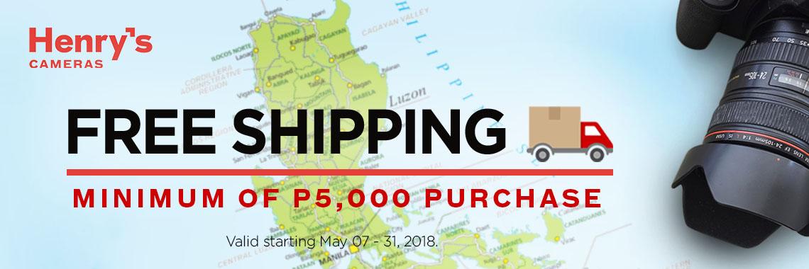 Free Shipping May