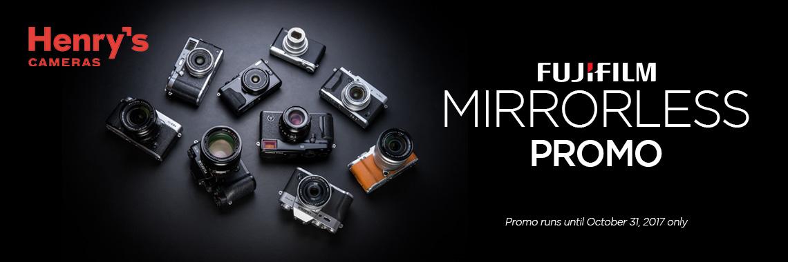 Fujifilm Mirrorless Promo