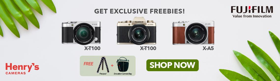 Fujifilm X-T100 and X-A5 Promo June 2019