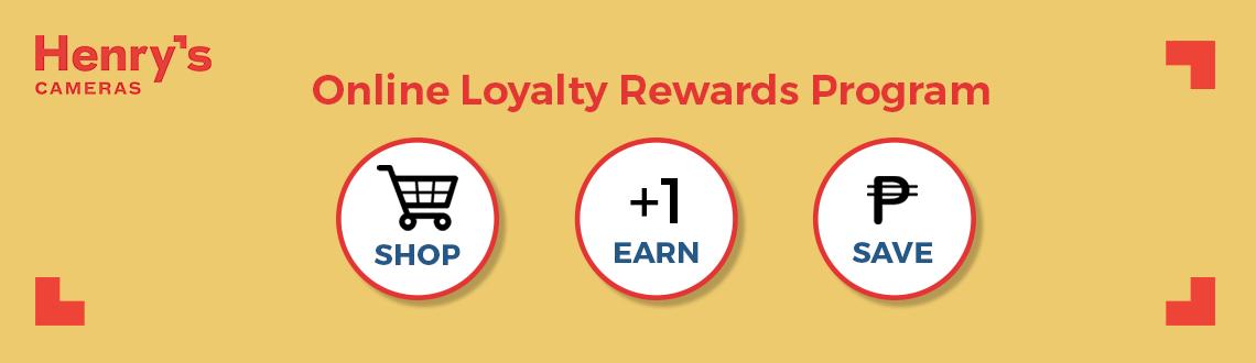 Henry's Cameras Loyalty Rewards