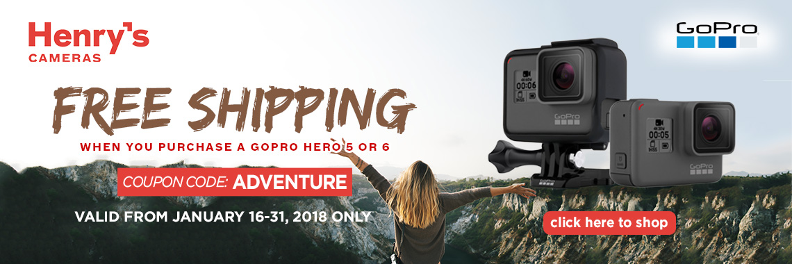 GoPro Hero Free Shipping
