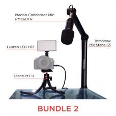 BUNDLE 2 - MAONO-ULANZI-LUXCEO-THRONMAX