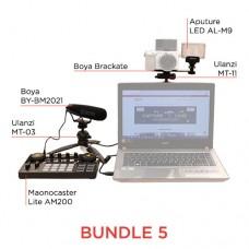 BUNDLE 5 - CAMERA PODCASTING