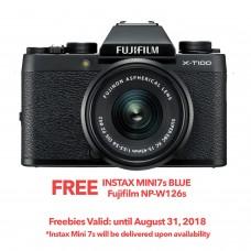 FUJIFILM X-T100 BLACK (W/15-45) [ONLINE PRICE]