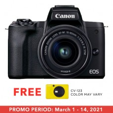 CANON EOS M50 II 15-45MM KIT BLACK
