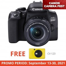 CANON EOS 850D (WITH 18-55 KIT)