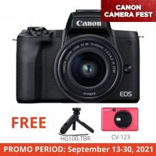 CANON EOS M50 II 15-45MM KIT BLACK