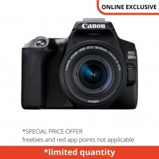 CANON EOS 200D II WITH 18-55MM KIT BLACK