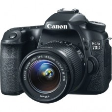 CANON 70D Body with 18-55MM [ONLINE PRICE] [SALE / NO WARRANTY]