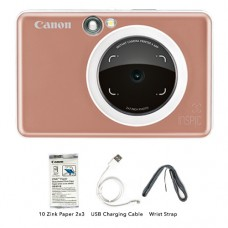 CANON INSPIC [S] ZV-123A INSTANT PRINT CAMERA ROSE GOLD
