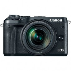 Canon EOS M6  with 15-45mm Black Kit [ONLINE PRICE] [FREE BLOWER KIT, TRIPOD, REWARDS VIA CANON RED APP: GC]