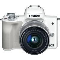 CANON EOS M50 15-45mm KIT WHITE